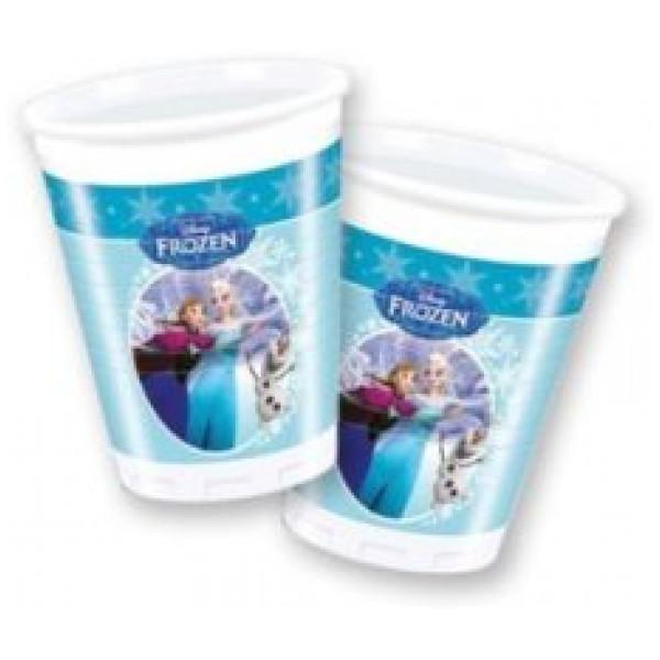 Frozen Kalas Frost Skating Muggar 8St från Frozen