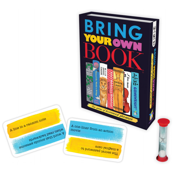 Gamewright Sällskapsspel Bring Your Own Book - The Game Of Borrowed Phrases från Gamewright