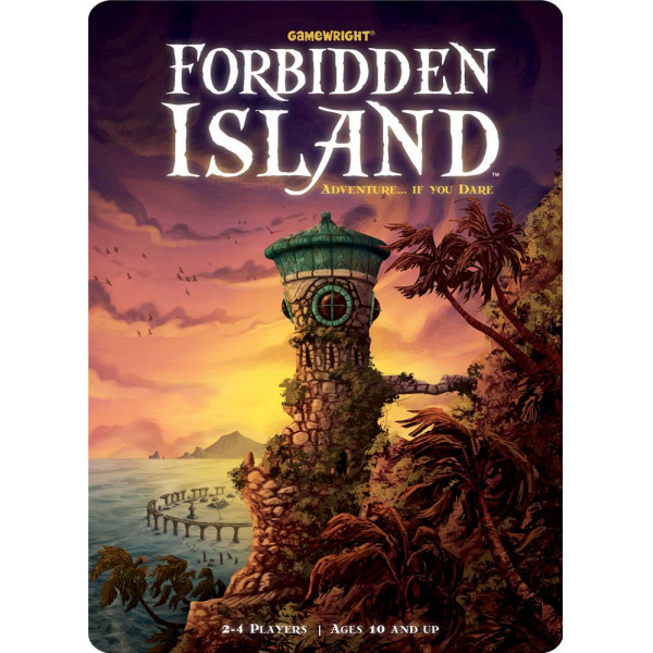 Gamewright Sällskapsspel Forbidden Island från Gamewright