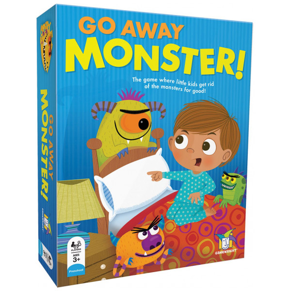 Gamewright Sällskapsspel Go Away Monster från Gamewright
