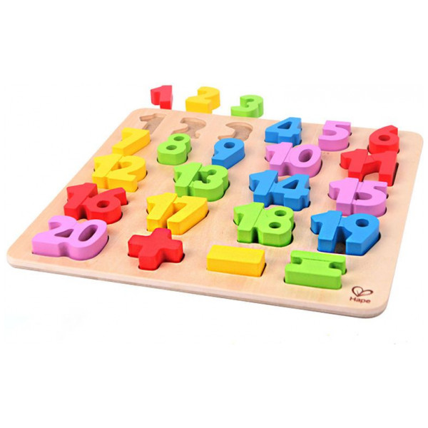 Hape Pussel Numbers Puzzle 5855 från Hape