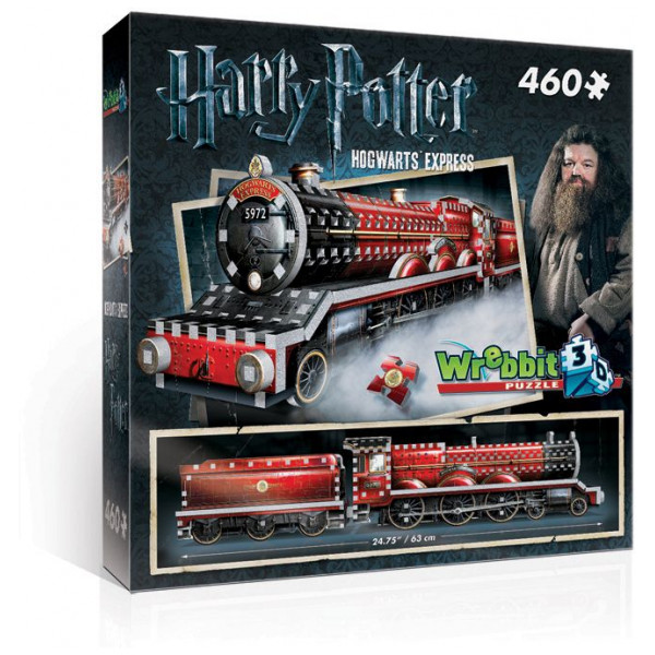 Harry Potter Pussel Wrebbit 3D Puzzle - Hogwarts Expres från Harry potter