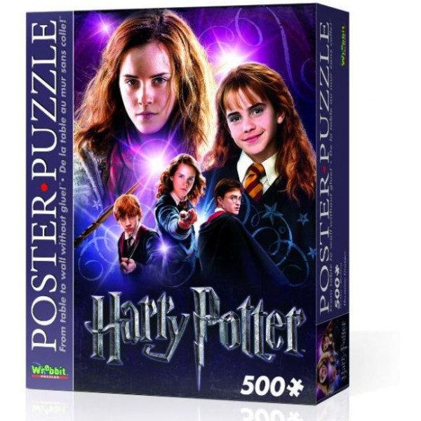 Harry Potter Pussel Wrebbit - Poster Puzzle 500 Pc - Hermoine Granger från Harry potter