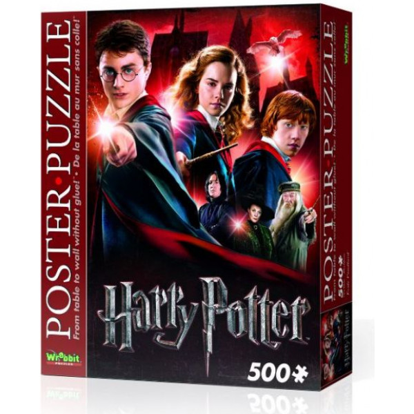 Harry Potter Pussel Wrebbit - Poster Puzzle 500 Pc - Hogwarts från Harry potter