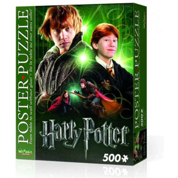 Harry Potter Pussel Wrebbit - Poster Puzzle 500 Pc - Ron Weasley från Harry potter
