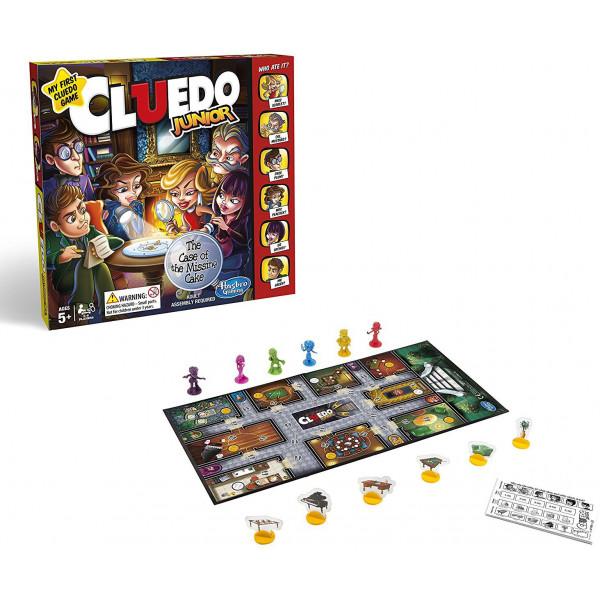 Hasbro Sällskapsspel Cluedo Junior Swe från Hasbro