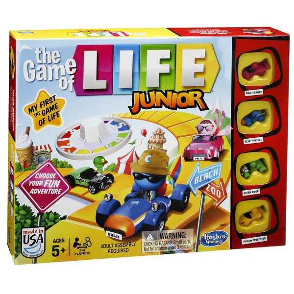 Hasbro Sällskapsspel The Game Of Life Junior Dkno från Hasbro