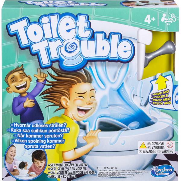 Hasbro Sällskapsspel Toilet Trouble C0447179 från Hasbro
