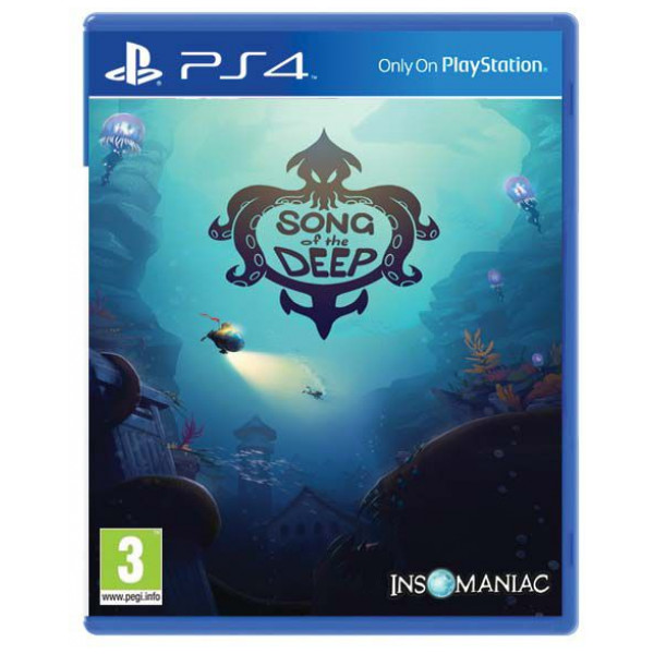 Insomniac Games Tv-Spel Song Of The Deep Us Import från Insomniac games