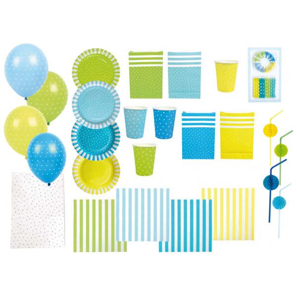 Jabadabado Kalas Stora Partypaket Blå från Jabadabado