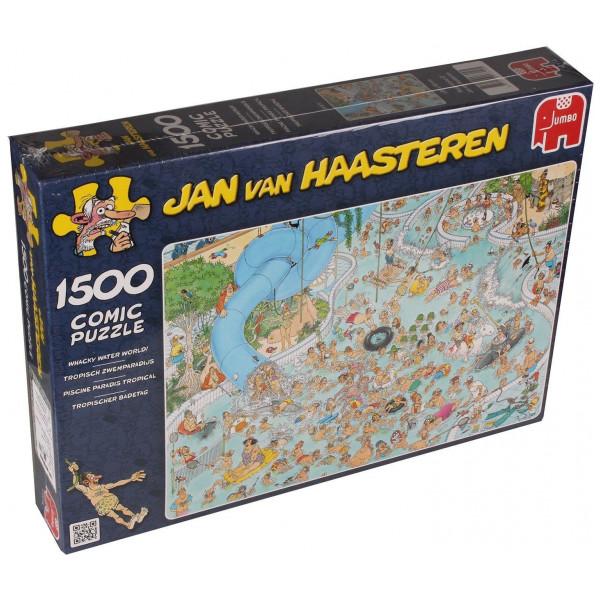 Jumbo Pussel Jan Van Haasteren - 1500 Pcs Puzzle - Whacky Water World från Jumbo