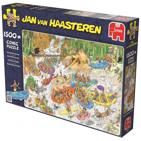 Jumbo Pussel Jan Van Haasteren - 1500 Pcs Puzzle - Wild Waterrafting från Jumbo