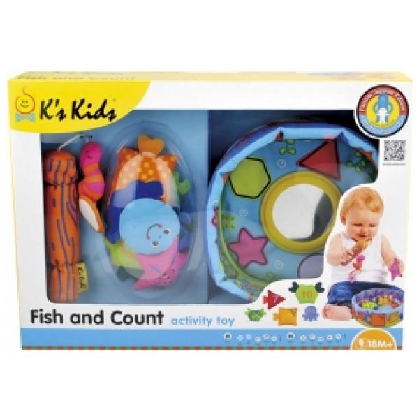 K's Kids Babyleksak Fiska & Räkna från K's kids