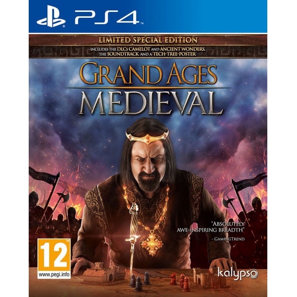 Kalypso Tv-Spel Grand Ages Medieval - Limited Special Edition från Kalypso