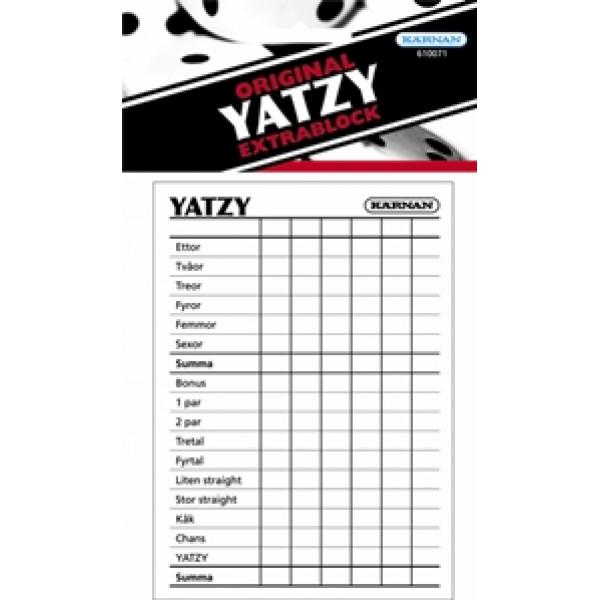 Kärnan Sällskapsspel Extrablock Yatzy från Kärnan