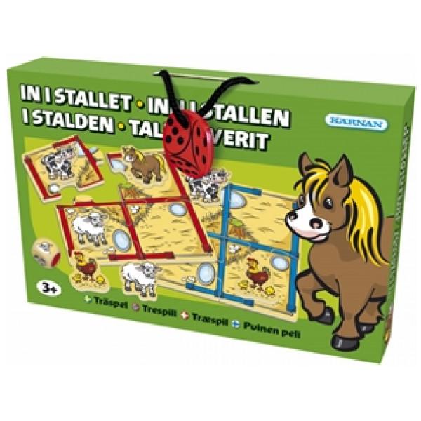 Kärnan Sällskapsspel In I Stallet från Kärnan
