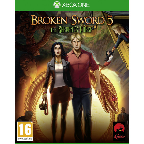 Koch Media Tv-Spel Broken Sword 5 The Serpent's Curse från Koch media