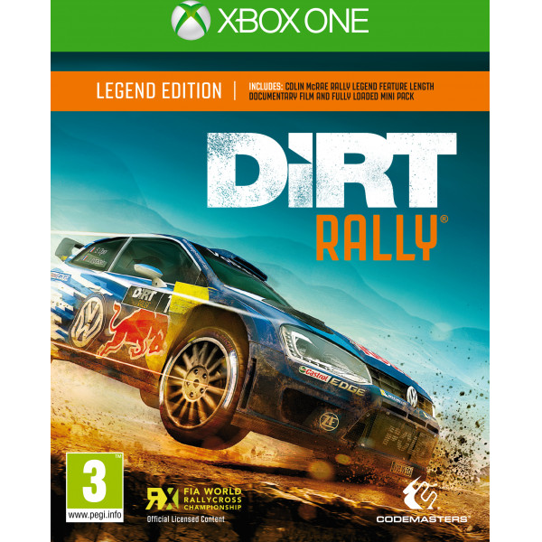 Koch Media Tv-Spel Dirt Rally Legend Edition från Koch media