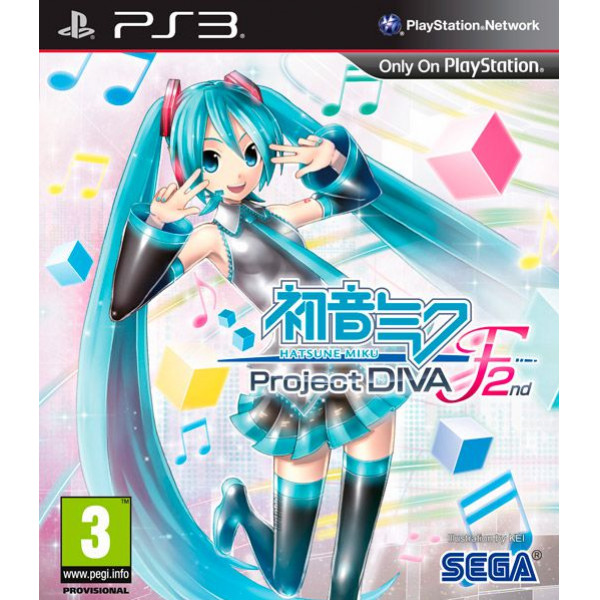 Koch Media Tv-Spel Hatsune Miku Project Diva 2 från Koch media