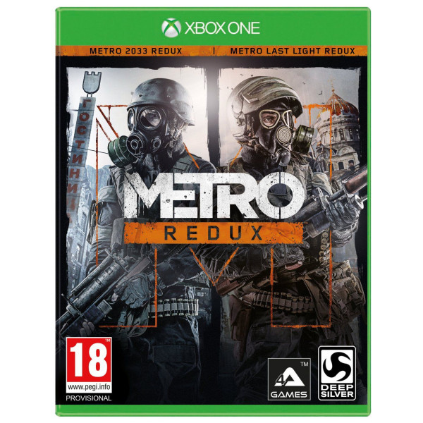 Koch Media Tv-Spel Metro Redux från Koch media
