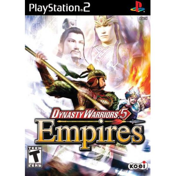 Koei Tv-Spel Dynasty Warriors 5 Empires från Koei