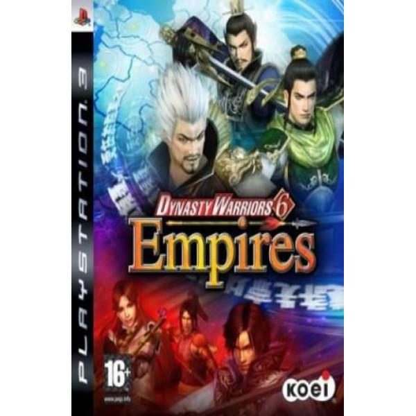 Koei Tv-Spel Dynasty Warriors 6 Empires från Koei