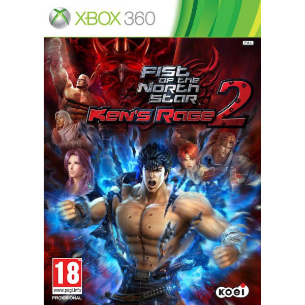 Koei Tv-Spel Fist Of The North Star - Kens Rage 2 från Koei