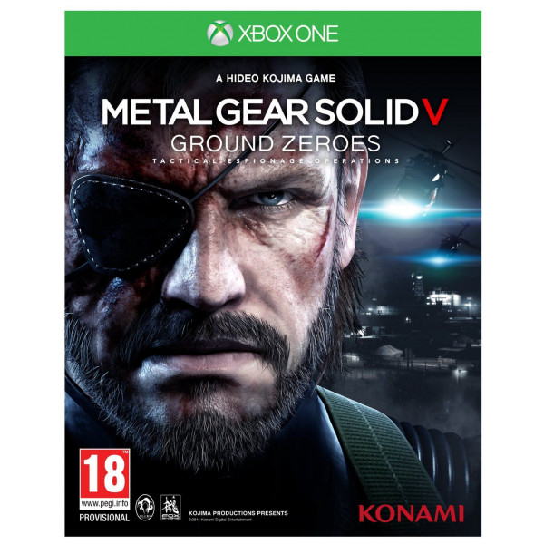Konami Tv-Spel Metal Gear Solid Ground Zeroes från Konami