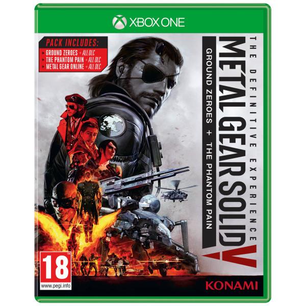 Konami Tv-Spel Metal Gear Solid V 5 The Definitive Experience från Konami