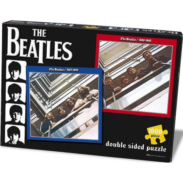 Lasgo Pussel Beatles Red & Blue 1000 Piece - Jigsaw Puzzle från Lasgo
