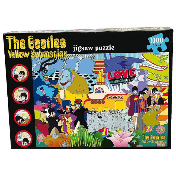 Lasgo Pussel Beatles Yellow Submarine - 1000 Pices Jigsaw Puzzle från Lasgo
