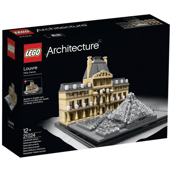 Lego Architecture - Louvre 21024 från Lego