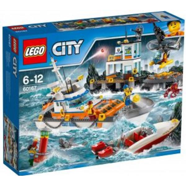 Lego City Coast Guard - Kustbevakningens Högkvarter - 60167 från Lego