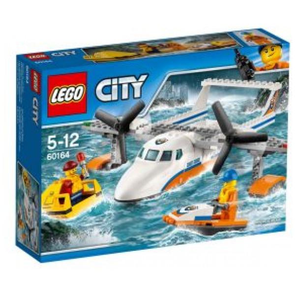 Lego City Coast Guard - Sjöräddningsplan - 60164 från Lego