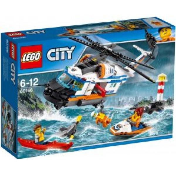 Lego City Coast Guard - Tung Räddningshelikopter - 60166 från Lego