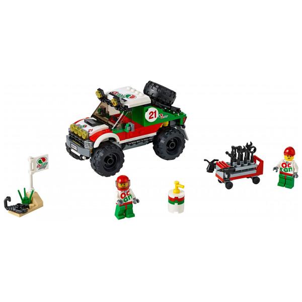 Lego City Lego Fyrhjulsdriven Terrängbil 60115 från Lego city