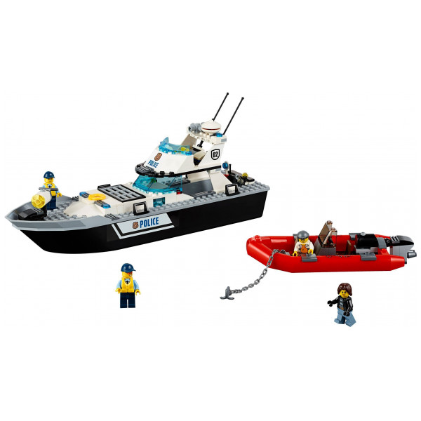 Lego City - Police Patrol Boat 60129 från Lego
