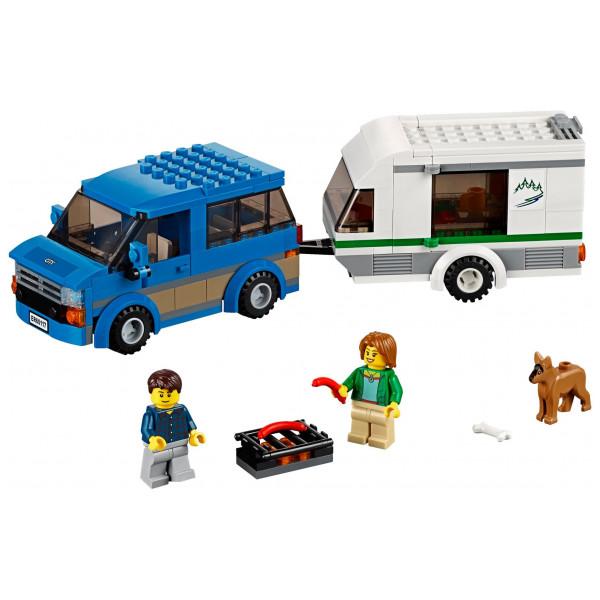 Lego City - Skåpbil Och Husvagn 60117 från Lego