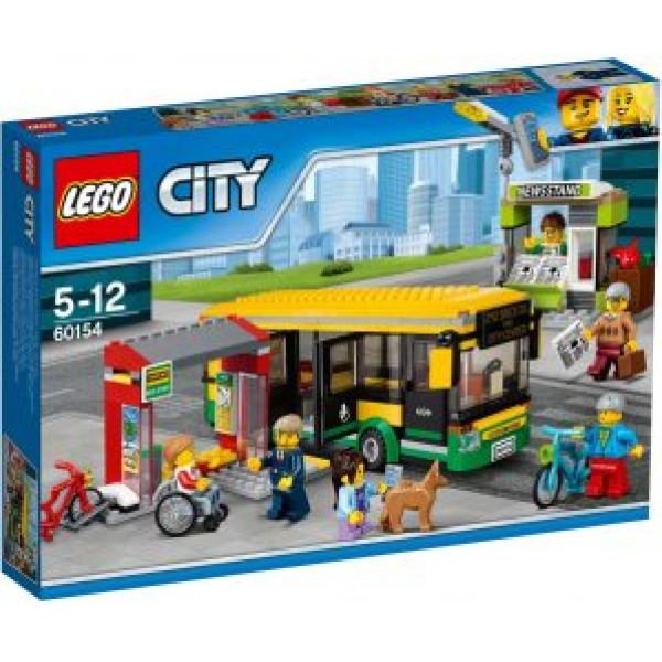 Lego City Town - Busstation - 60154 från Lego