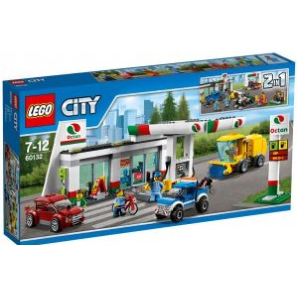 Lego City Town - Servicestation - 60132 från Lego