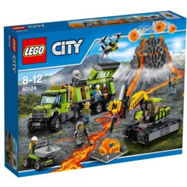 Lego City Volcano Explorers - Vulkan – Forskningsbas - 60124 från Lego