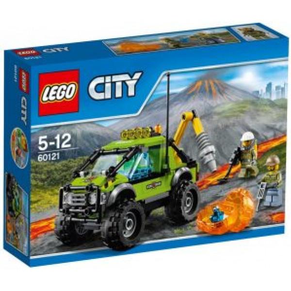 Lego City Volcano Explorers - Vulkan Utforskningsbil - 60121 från Lego