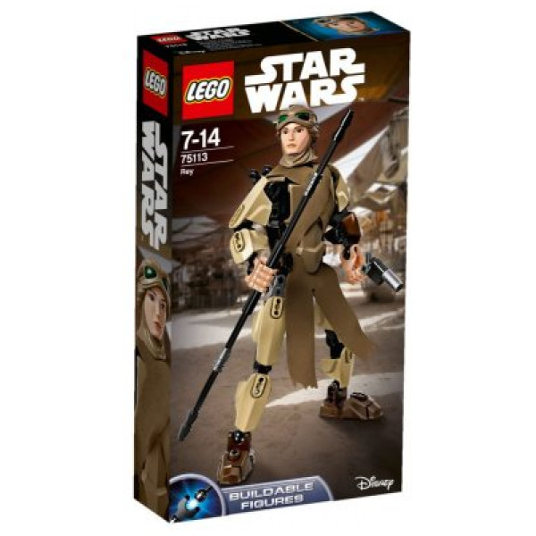 Lego Constraction Star Wars - Rey - 75113 från Lego