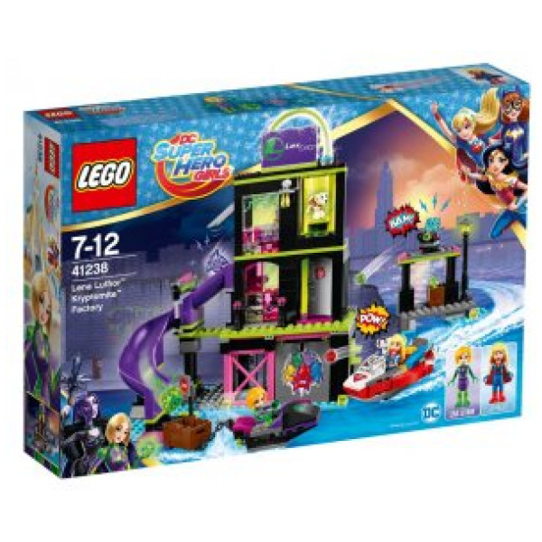 Lego Dc Super Hero Girls - Lena Luthor Kryptomite Fabrik - 41238 från Lego
