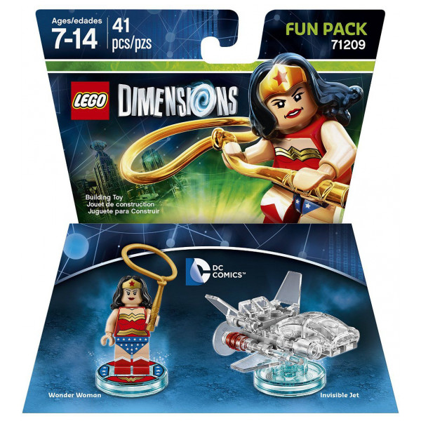 Lego Dimensions Lego Fun Pack - Dc Wonder Woman 71209 från Lego dimensions