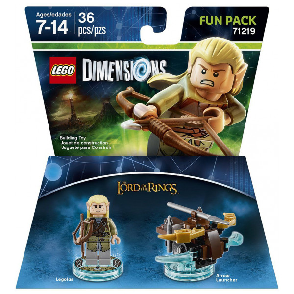 Lego Dimensions Lego Fun Pack - Lord Of The Rings Legolas från Lego dimensions