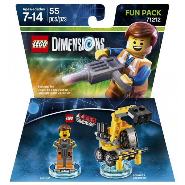Lego Dimensions Lego Fun Pack - Movie Emmet från Lego dimensions