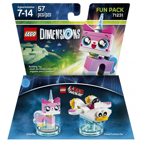 Lego Dimensions Lego Fun Pack - Movie Unikitty från Lego dimensions