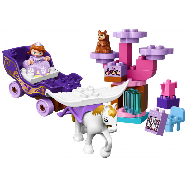 Lego Disney Princess Lego Duplo - Sofia The First Magical Carriage 10822 från Lego disney princess