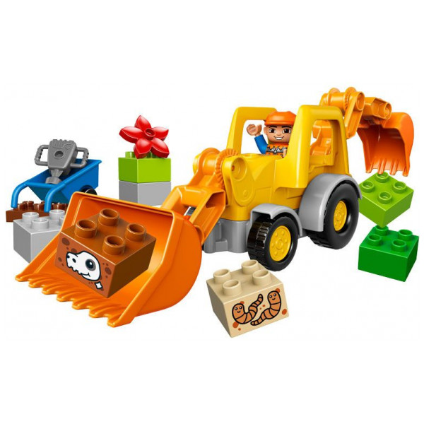 Lego Duplo - Backhoe Loader 10811 från Lego